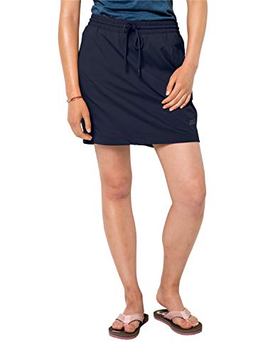 Jack Wolfskin Damen Rock Desert Skort, Midnight Blue, XL, 1505301