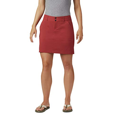 Columbia Skort für Damen, Saturday Trail , Rot (Dusty Crimson), 10, 1710551