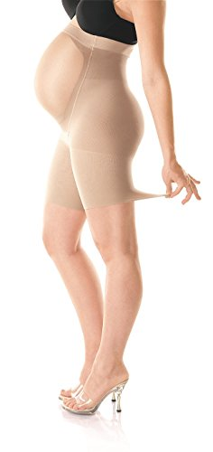 Spanx Womens Mama Maternity Shapewear Shorts with Growing Belly Support