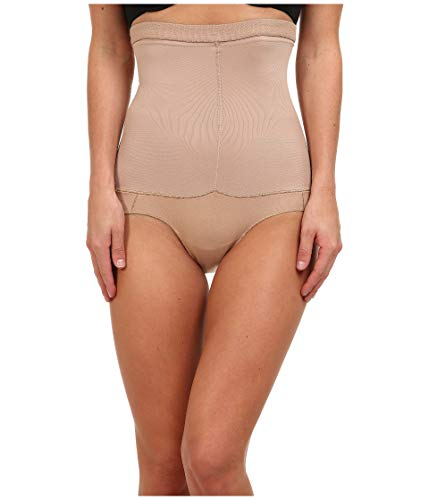 Spanx Slip Hosiery Shapers Higher Power Brief Beige Meliert L