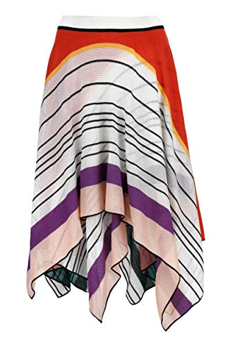 Missoni Luxury Fashion Damen MDH00167BR00A1SM18O Weiss Baumwolle Rock | Frühling Sommer 20