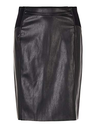 VERO MODA Female Rock High Waist MBlack