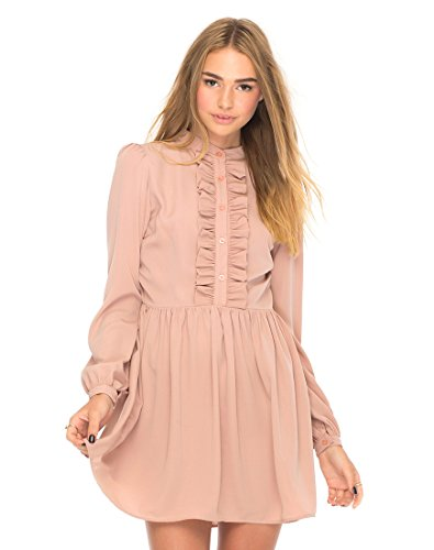 MOTEL ROCKS Damen Kleid rosa Rosa L