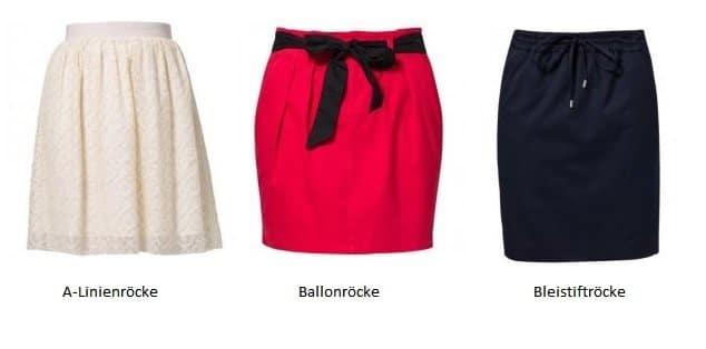 Damenröcke und ihre Formen – Ein kleiner Überblick
