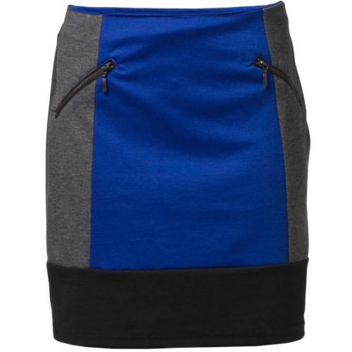 Minirock blau grau von Anna Field