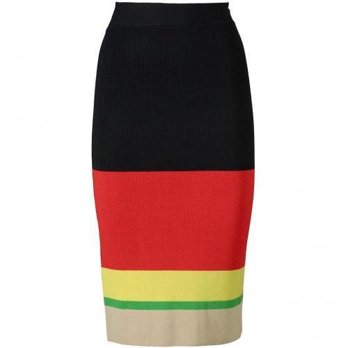 A-Linien-Rock black/red/yellow von Apart