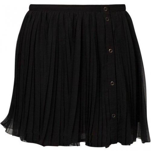 Faltenrock noir von Brigitte Bardot