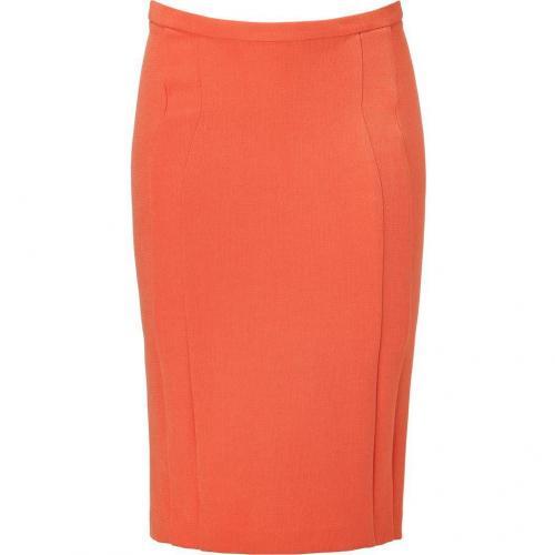 Orange Pencil Skirt von Just Cavalli