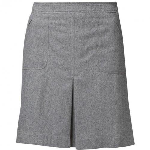 Dora Skirt A-Linien-Rock light grey von Kala