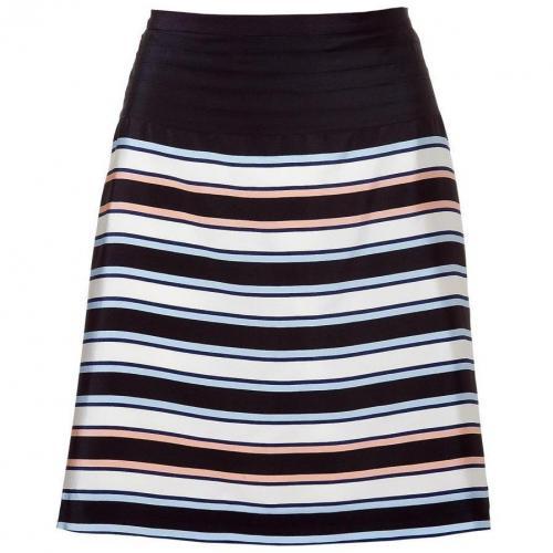 Navy/White Multi Jacobson Stripe Skirt von Marc by Marc Jacobs