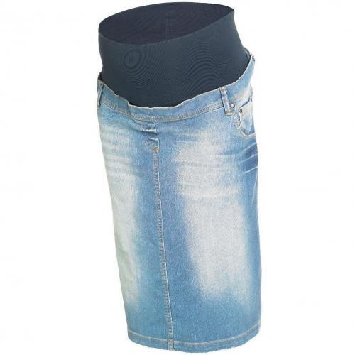 Jeansrock blau mit Bleaching von Noppies