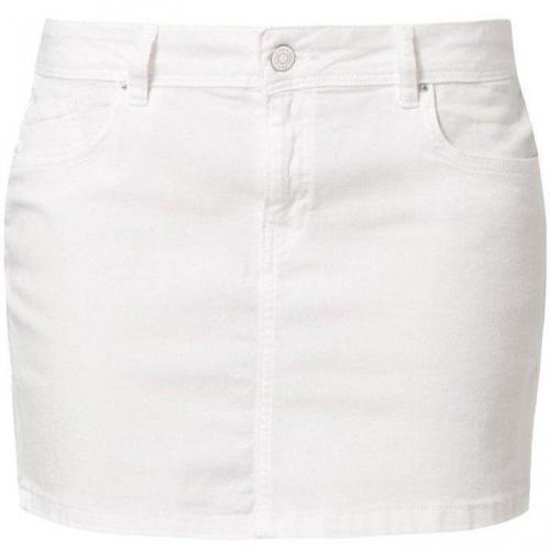Minirock blanc von School Rag